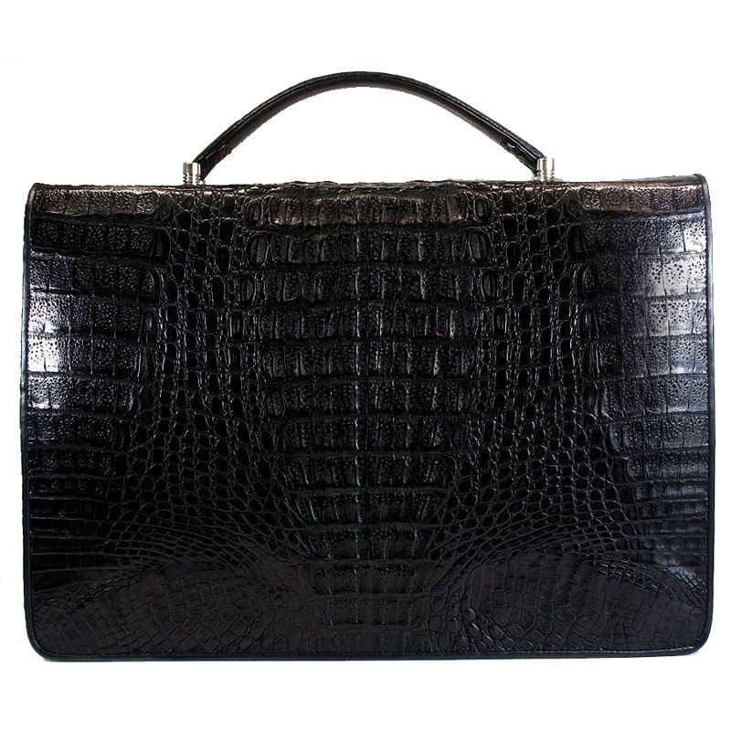 Aldo Genuine Crocodile Leather Mens Bag