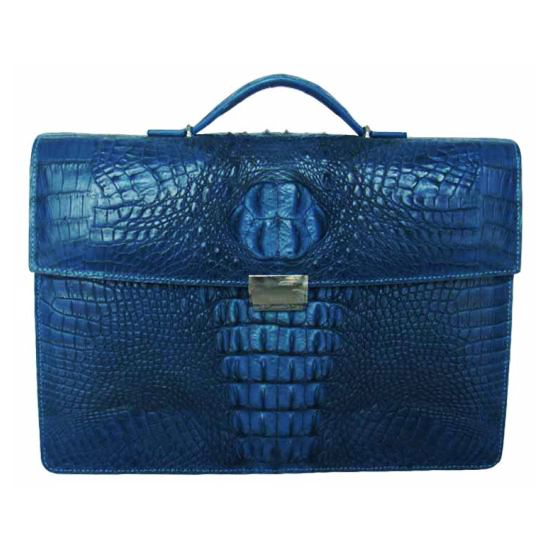 Ricardo Genuine Crocodile Leather Mens Bag