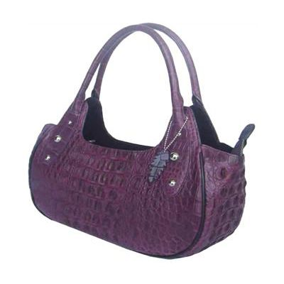 Ramona Crocodile Leather Delightful Ladies Bag