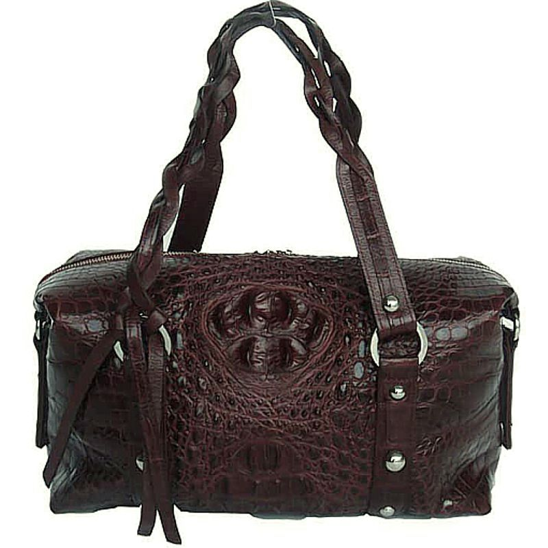 Beatrice Genuine Crocodile Leather Handbag