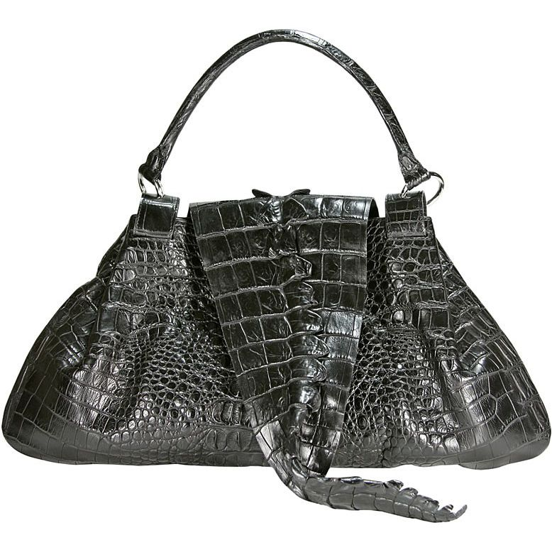 Carla Genuine Crocodile Leather Bag