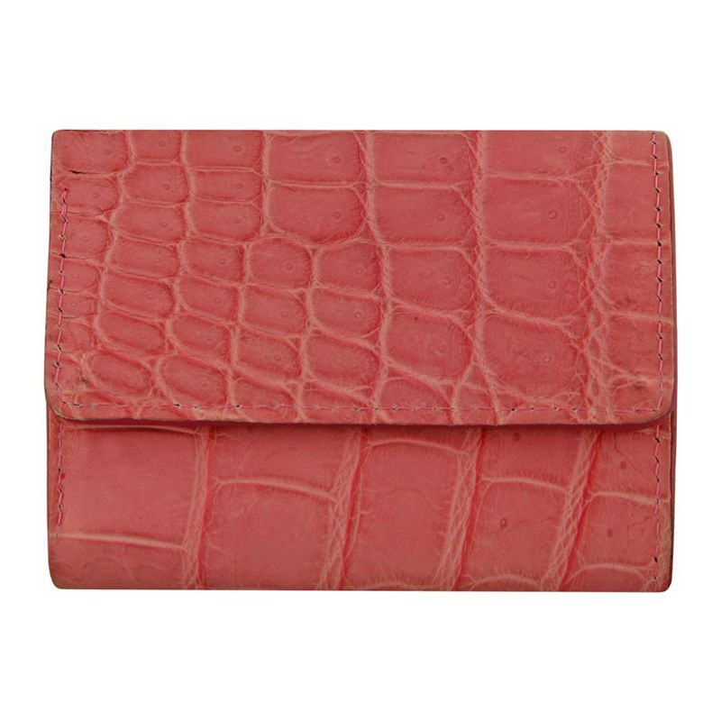 Genuine Crocodile Leather Ladies Wallet 001