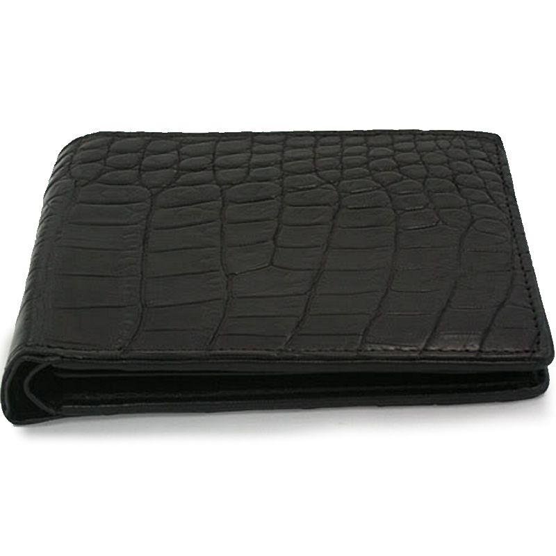 Genuine Crocodile Leather Wallet 006