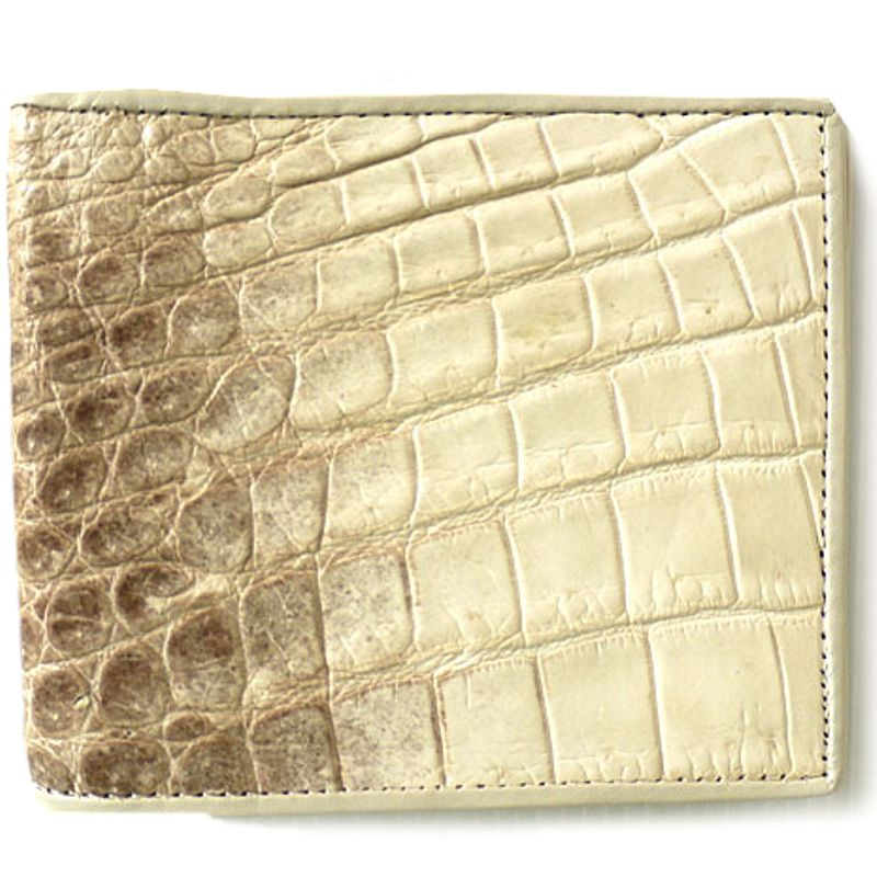 Genuine Crocodile Leather Wallet 008