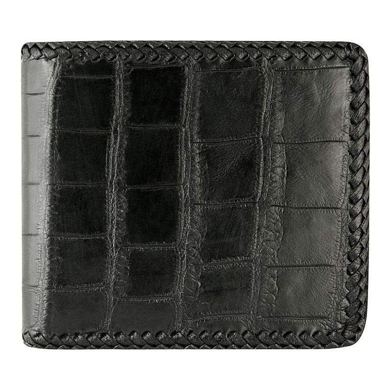 Genuine Crocodile Leather Wallet 002