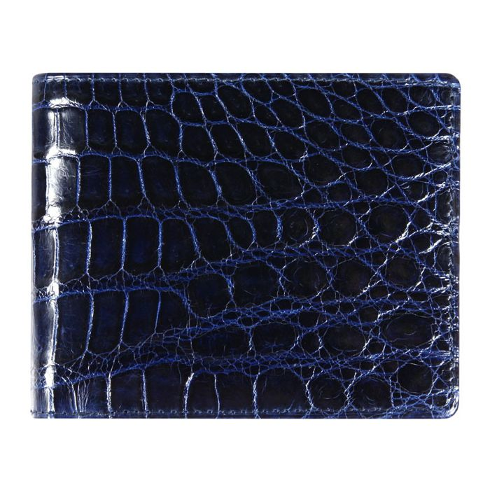 Genuine Crocodile Leather Wallet 001