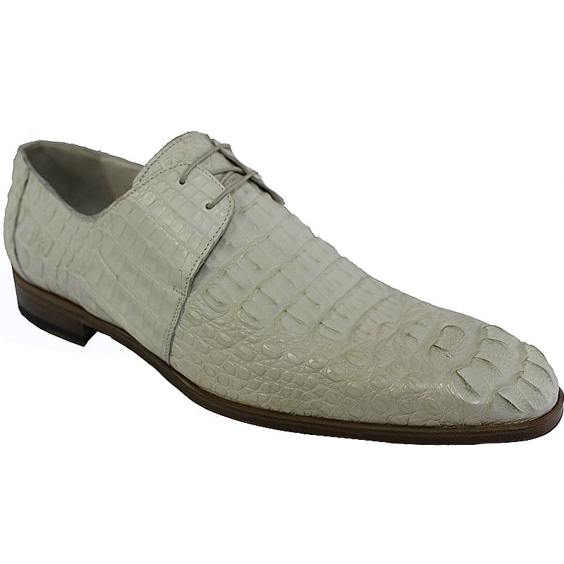 Genuine Crocodile Hornback Leather Mens Shoes 002