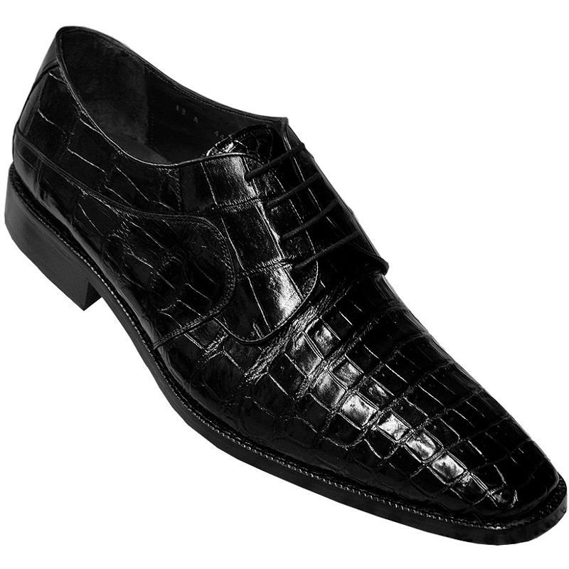 Genuine Crocodile Leather Mens Shoes 004