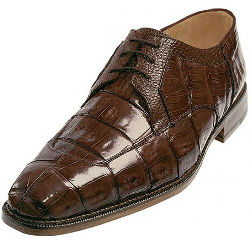 Genuine Crocodile Leather Mens Shoes 006