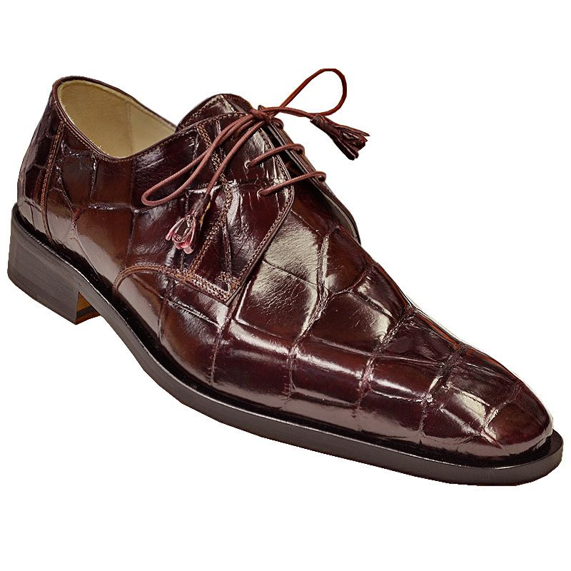 Genuine Crocodile Leather Mens Shoes 008