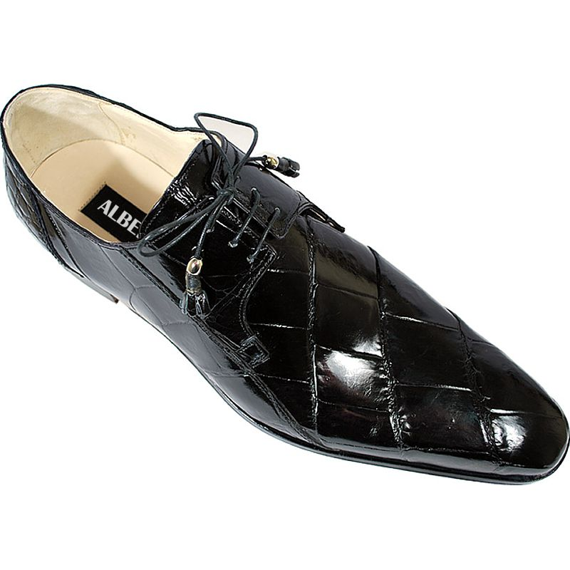 Genuine Crocodile Leather Mens Shoes 009