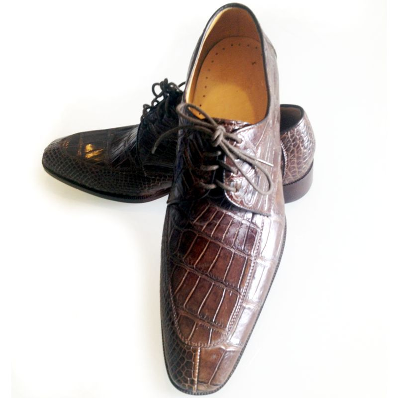 Genuine Crocodile Leather Mens Shoes 013