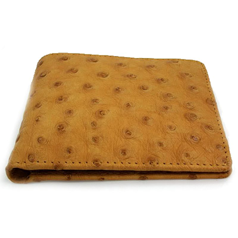 Genuine Ostrich Leather Mens Wallet 002