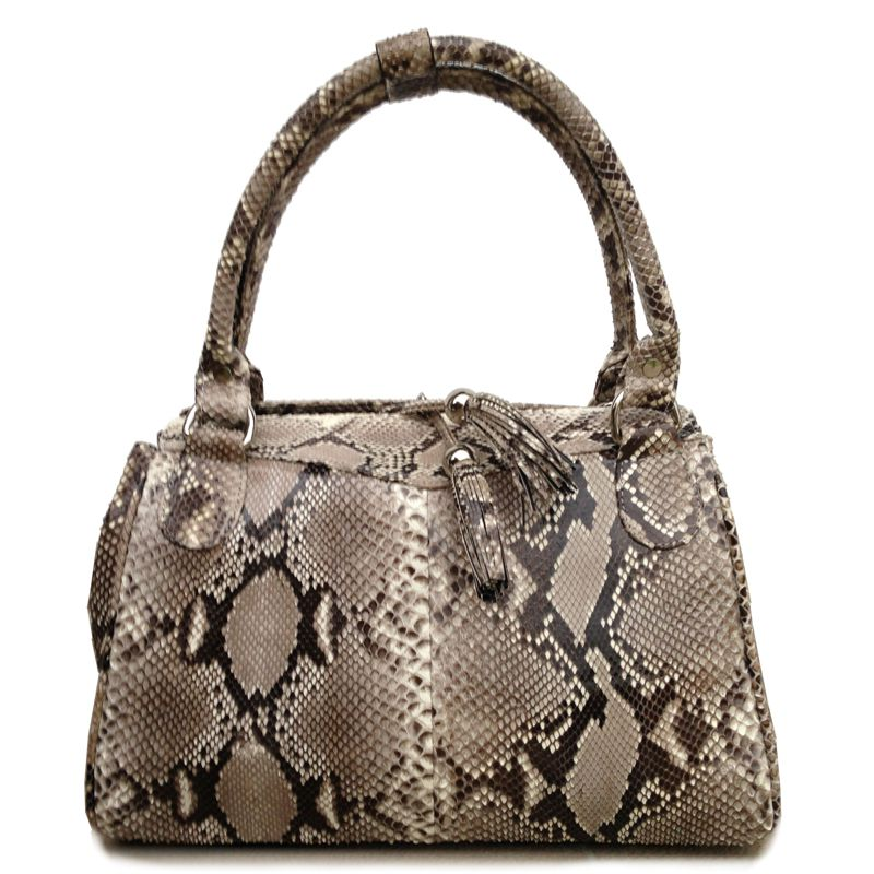 Kim Snake Python Leather Bag