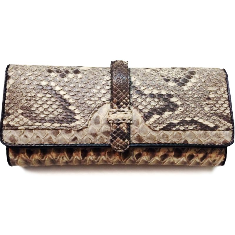 Genuine Snake Python Leather Ladies Wallet 002