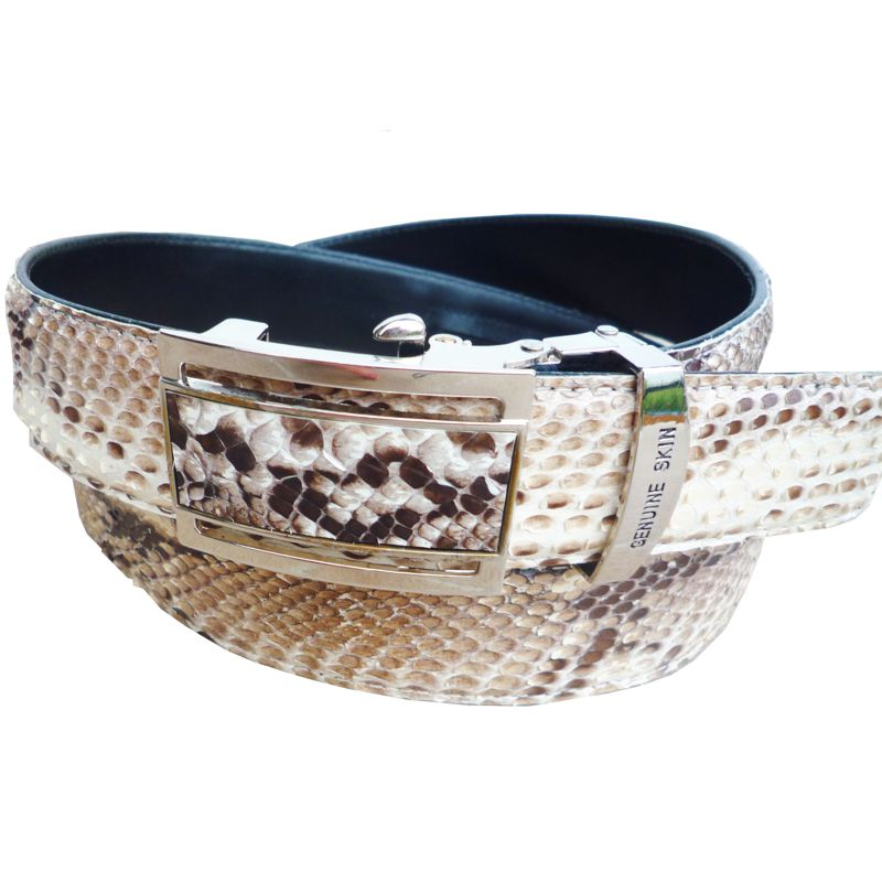 Genuine Python Snake Leather Mens Belt 001