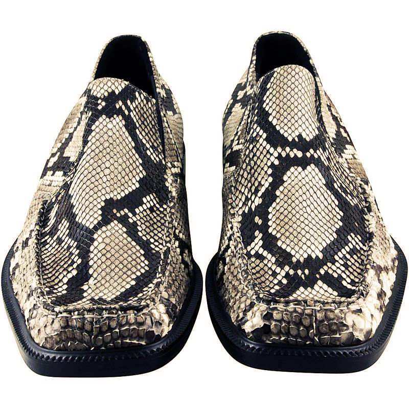 Genuine Python Snake Leather Mens Shoes 002