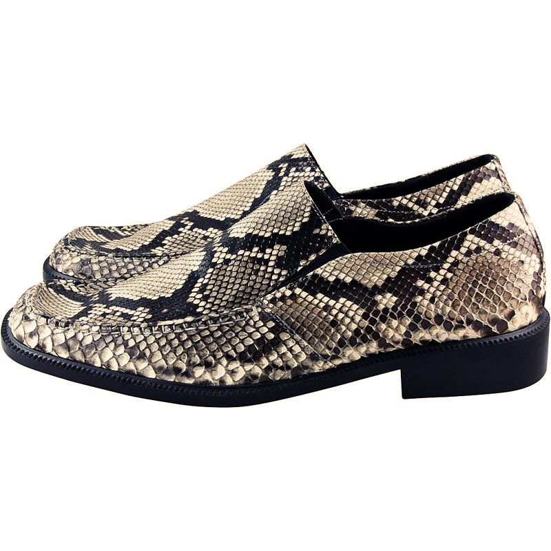 Genuine Python Snake Leather Mens Shoes