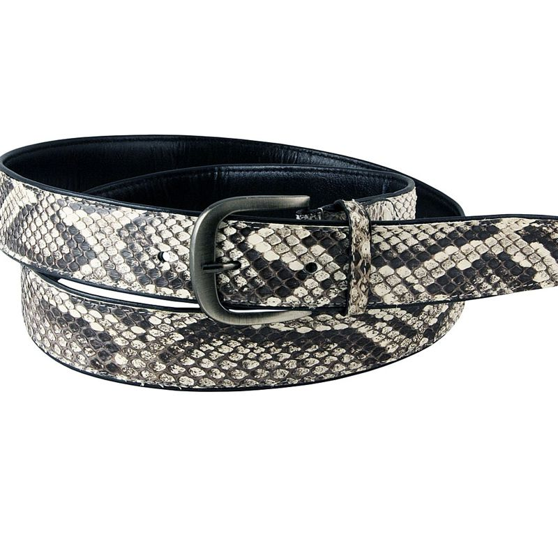 Genuine Python Snake Leather Mens Belt 002