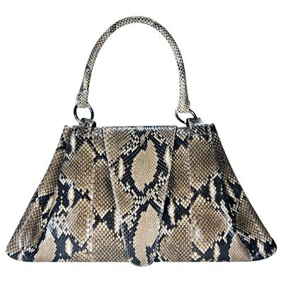 Julia Genuine Python Leather Everyday Purse