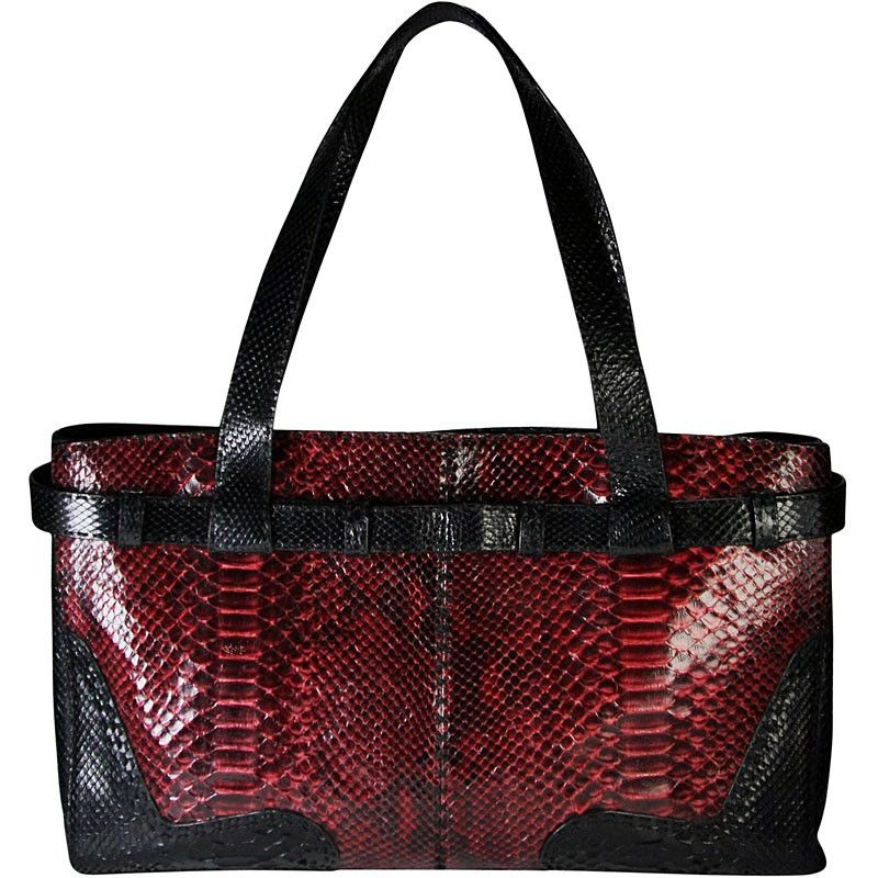 Gina Snake Python Leather Bag
