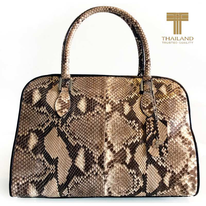 Rita Snake Python Leather Ladies Handbag