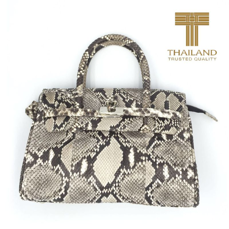 Margaret Snake Python Leather Bag