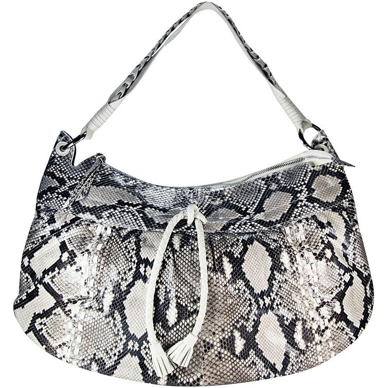 Samantha Genuine Python Snake Leather Bag