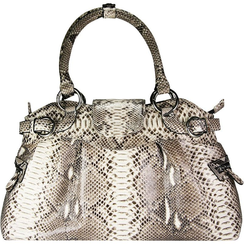 Tania Snake Python Leather Hobo Bag