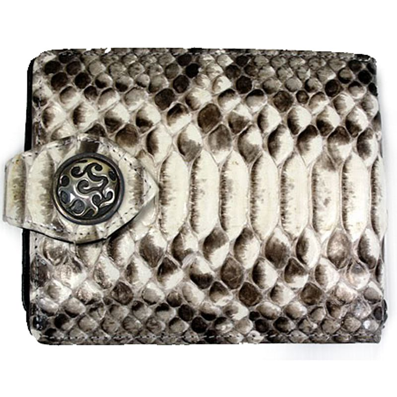 Genuine Python Snake Leather Mens Wallet 004