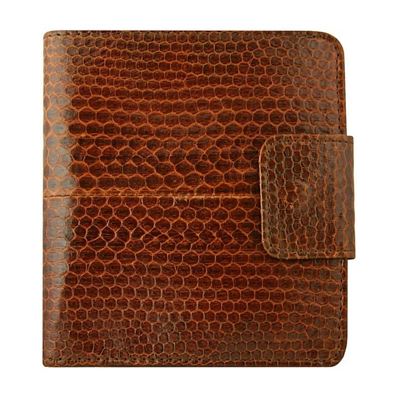 Genuine Sea Snake Leather Mens Wallet 001