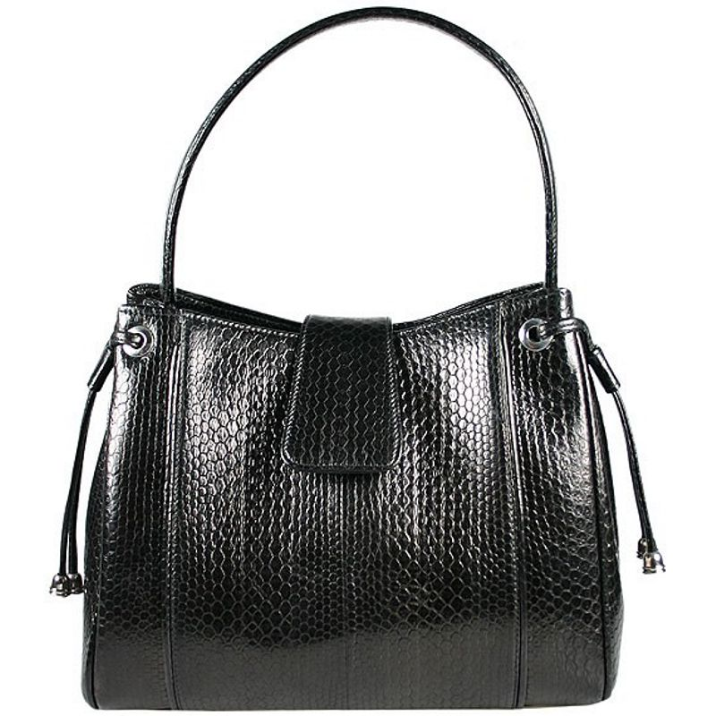 Helen Sea Snake Leather Ladies Shoulder Bag