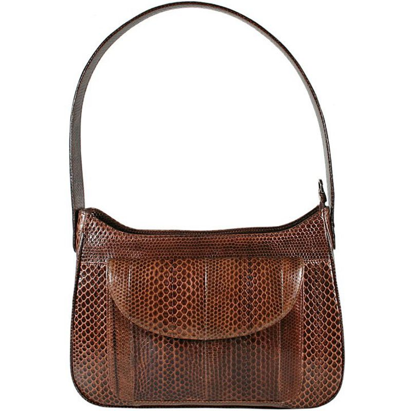 Andie Sea Snake Leather Ladies Shoulder Bag