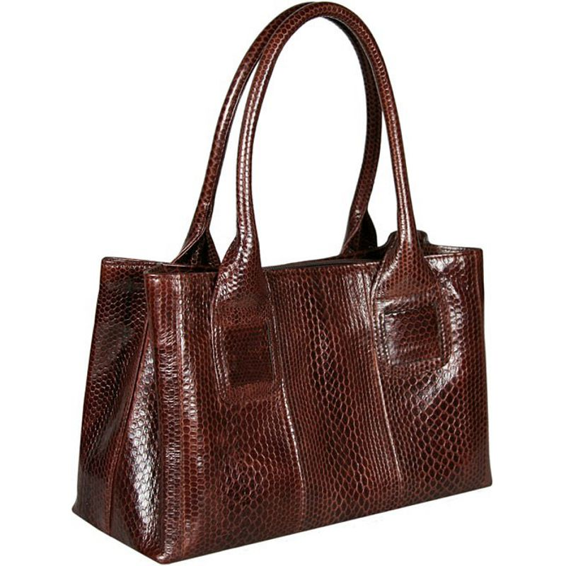 Christina Sea Snake Leather Ladies Bag - back side