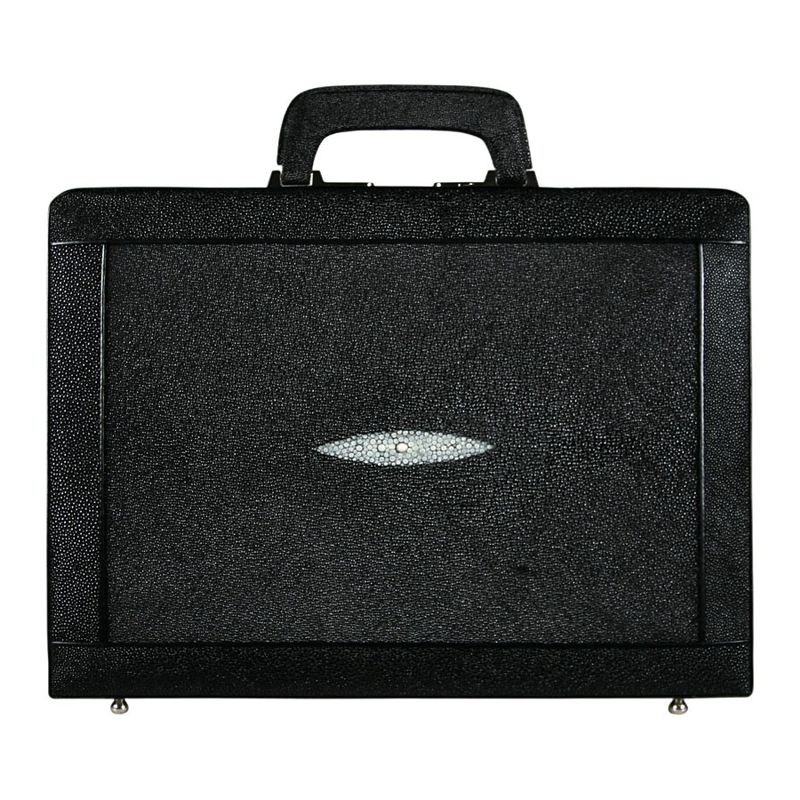 Bernard Genuine Stingray Leather Mens Briefcase