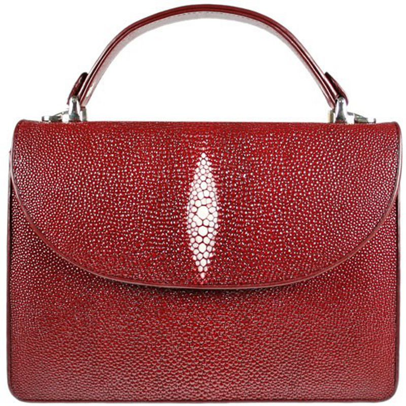 Diana Genuine Stingray Leather Bag