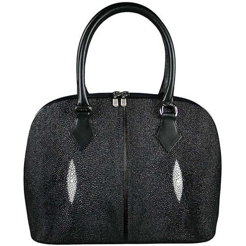 Angela Genuine Stingray Leather Shoulder Bag