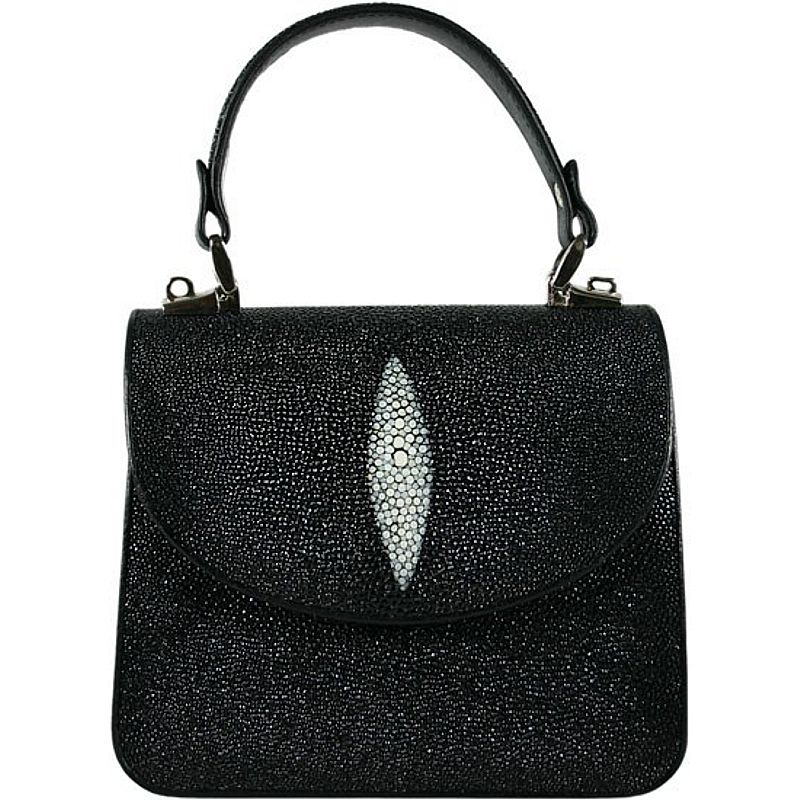 Clarice Genuine Stingray Leather Bag