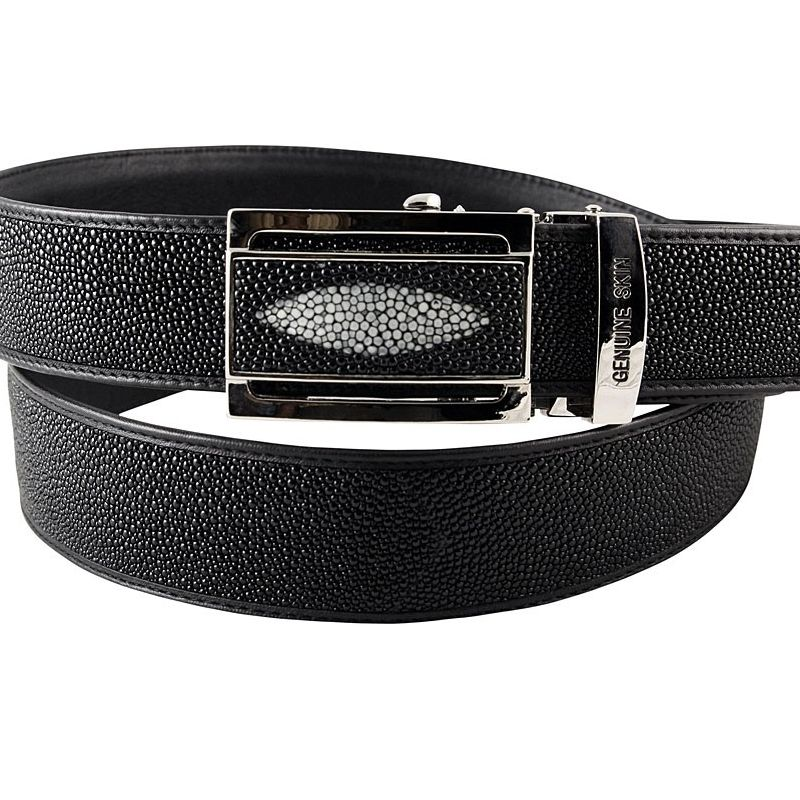 Genuine Stingray Leather Belt 002