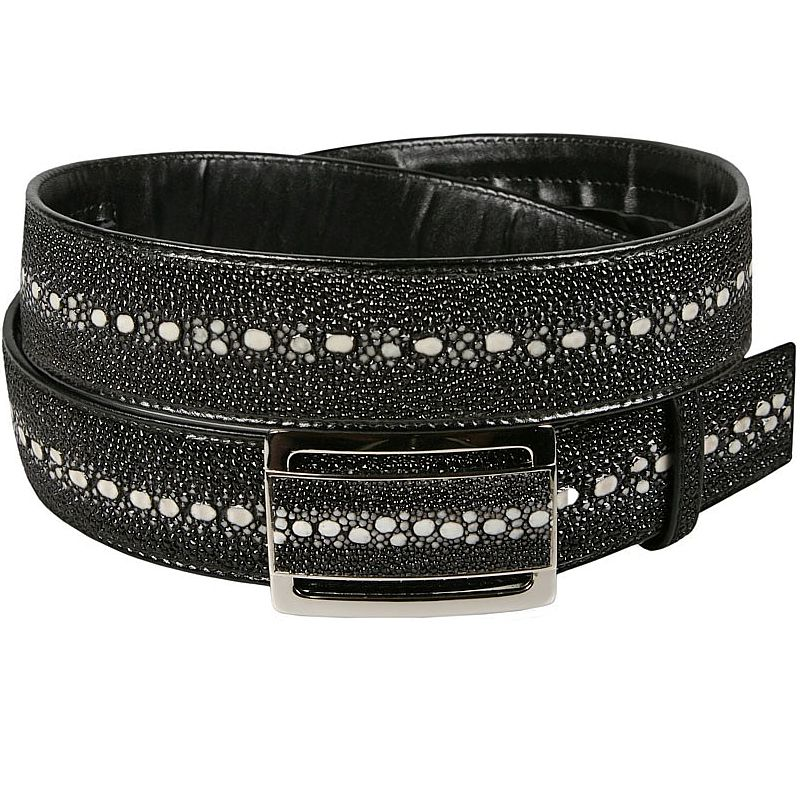Genuine Stingray Leather Belt 005