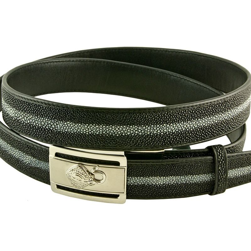 Genuine Stingray Leather Belt 007
