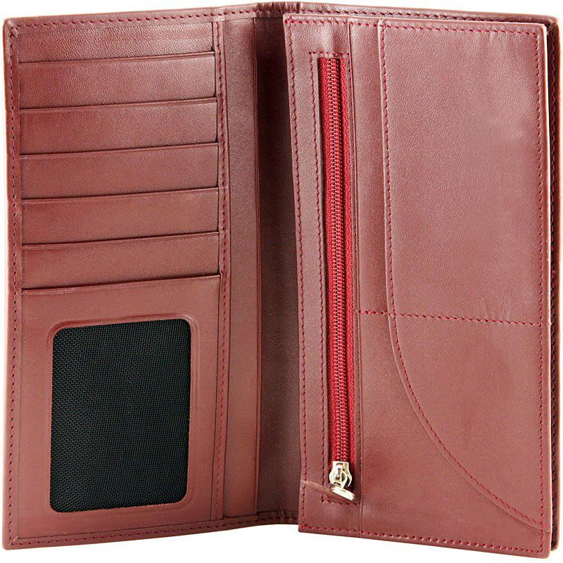 Genuine Stingray Leather Ladies Wallet - inside