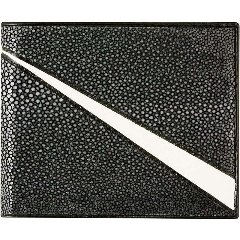 Genuine Stingray Leather Bifold Wallet 006