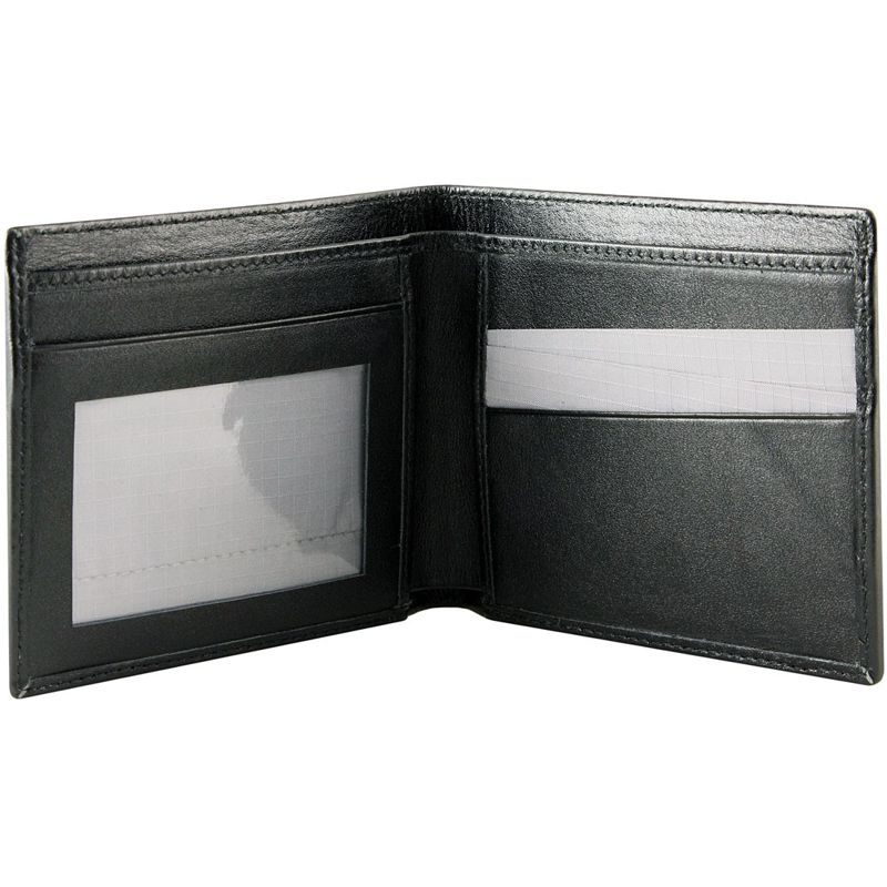 Genuine Stingray Leather Bifold Wallet - inside