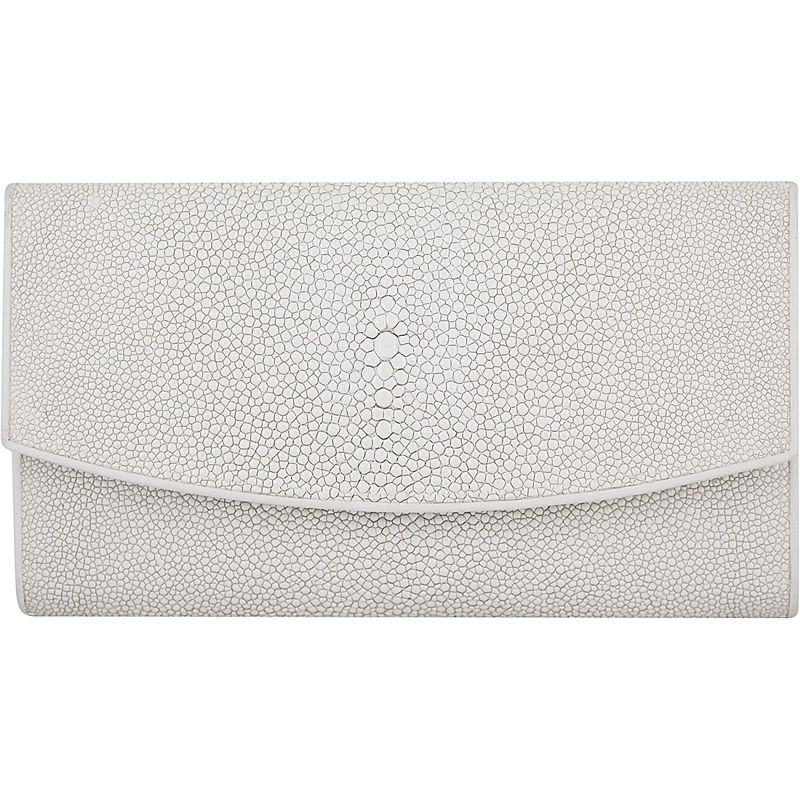 Genuine Stingray Leather Ladies Wallet 005