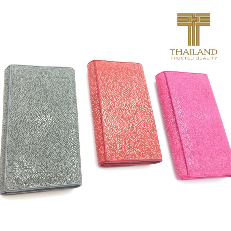 Genuine Stingray Leather Ladies Wallet